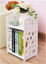 Simple combination of small desktop storage shelf bookcase desk simple Desktop management arm wash rack