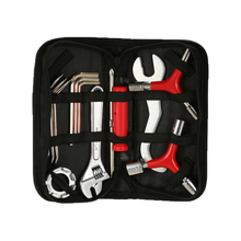 12PCS Bike Repair Tool Kit Stainless steel Multi-Function Bicycle Maintenance Tools with Portable Box(China)