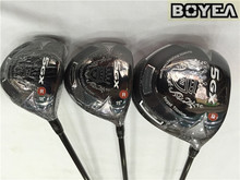 Boyea Nickent 5GX Wood Set Golf Woods Golf Clubs Driver +Fairway Woods R/S Flex Graphite Shaft With Head Cover