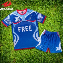 soccer jerseys custom football club sets soccer jersey design personalized voetbal shirts camisetas de futbol(China)