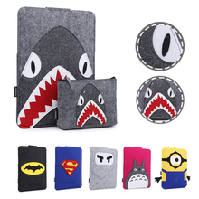 Notebook Cartoon Pattern Liner Sleeve Bag Case For Apple Macbook Air Pro Retina 11 12 13 15 Laptop Cover For Mac book 13.3 inch