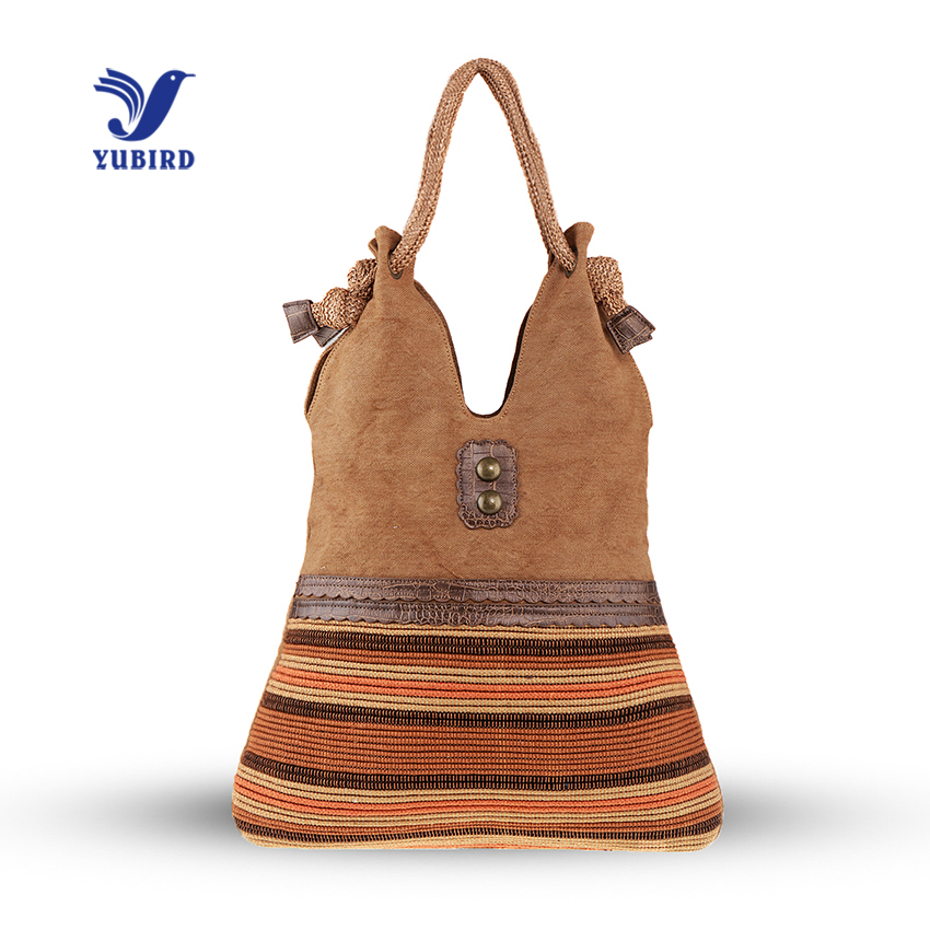 YUBIRD Large Capacity Women Shoulder Bag Canvas Bag Casual Hand Bag Woman Knitting Fabric Travel bolso grande tela sac tissu <br>
