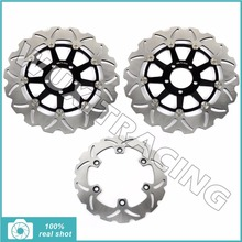 310MM Motorcycle New Full Set Front Rear Brake Discs Rotors for KAWASAKI ZZR 1100 ZZR1100 1990 1991 1992 1993 90 91 92 93