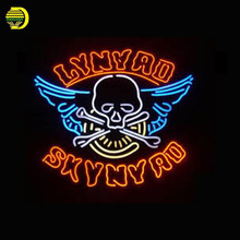 Neon Sign For Incredible Lynyrd Skynyrd Lamp neon Windows light custom Handmade neon signs for Beer Bar vintage neon signs Light(China)