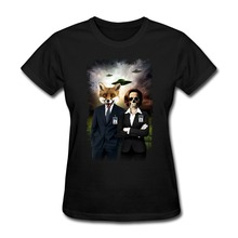 Perfect best love top hot jerseys Fox and Skully Women's t hot new Sale Women tee sports ente
