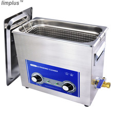 Limplus 6.5L Professional Ultrasonic Bath Cleaner Industrial Ultrasonic Cleaning Machine Cheaper Price with CE confirmed