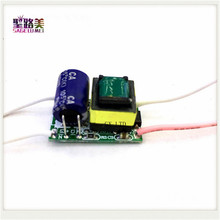 5pcs 600MA 3V-5V 2-1x3W 3W LED driver power supply built-in constant current Lighting Transformers Adapter for DIY LED lamp bulb