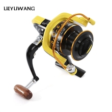 LIEYUWANG 10BB Spinning Fishing Reel Professional Metal Fishing Reel With Exchangeable Handle For Casting Line HD 1000 - 7000