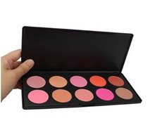 2016 Professional Makeup Cosmetic Blush Powder Blusher Palette Makeup Face Women Charm 10 Colors(China)