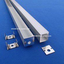 10pcs/lot(20m);2m per piece U Aluminum led profile for Led Strip light ;Aluminum channel led QC1515(China)