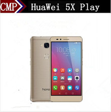 "Original HuaWei Honor 5X Play 4G LTE Mobile Phone MSM8939 Android 5.1 5.5"" FHD 1920X1080 3GB RAM 16GB ROM 13.0MP Fingerprint"