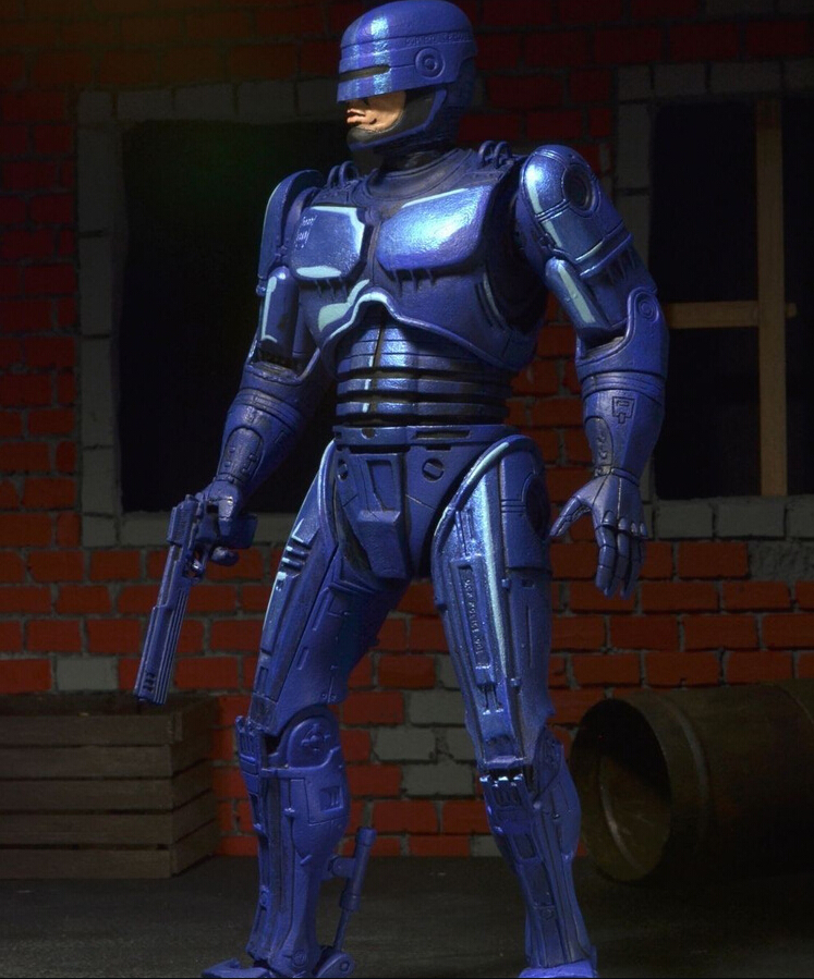 Classic Anime 18cm Robocop Classic 1987 Video Game Action Figures PVC brinquedos Collection Figures toys Men Boy Christmas Gift<br>