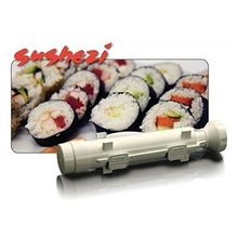 Sushi Roller Kit - Sushi Rolls Made Easy Sushi Bazooka Sushi Maker Roller Set Kitchen Accessories