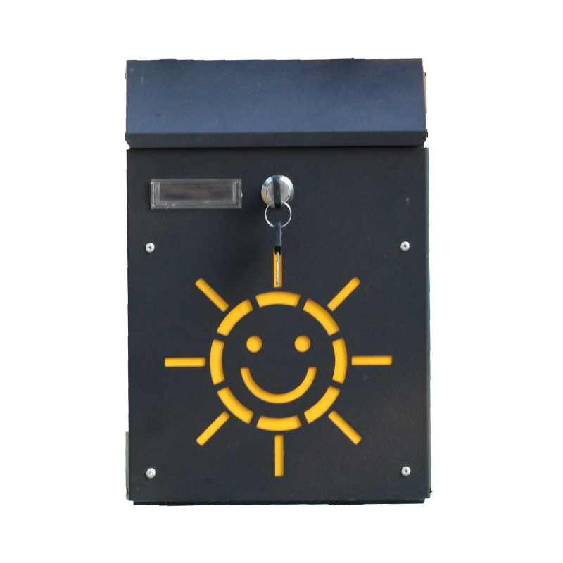 Lockable Smile Sunshine mailbox (5)