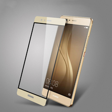 Full Coverage Tempered Glass Protective Film For Huawei P9 P9 plus 0.26 mm 9H Coated Explosion-Proof  Screen Saver