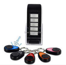5 In1 Wireless Alarm Non Lost Electronic Key Finder Locator Remote Control Dint Keychain Searching Device