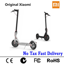 Original Xiaomi Mijia M365 Smart Electric Scooter Foldable Mi Lightweight Long Board Hoverboard Skateboard 30km Mileage With App
