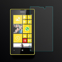2.5D Curved Edge Screen For Nokia Lumia 520 / 521 Protection Film For Nokia Lumia 520 / 521 Tempered Glass Front Film 0.26mm HD(China)