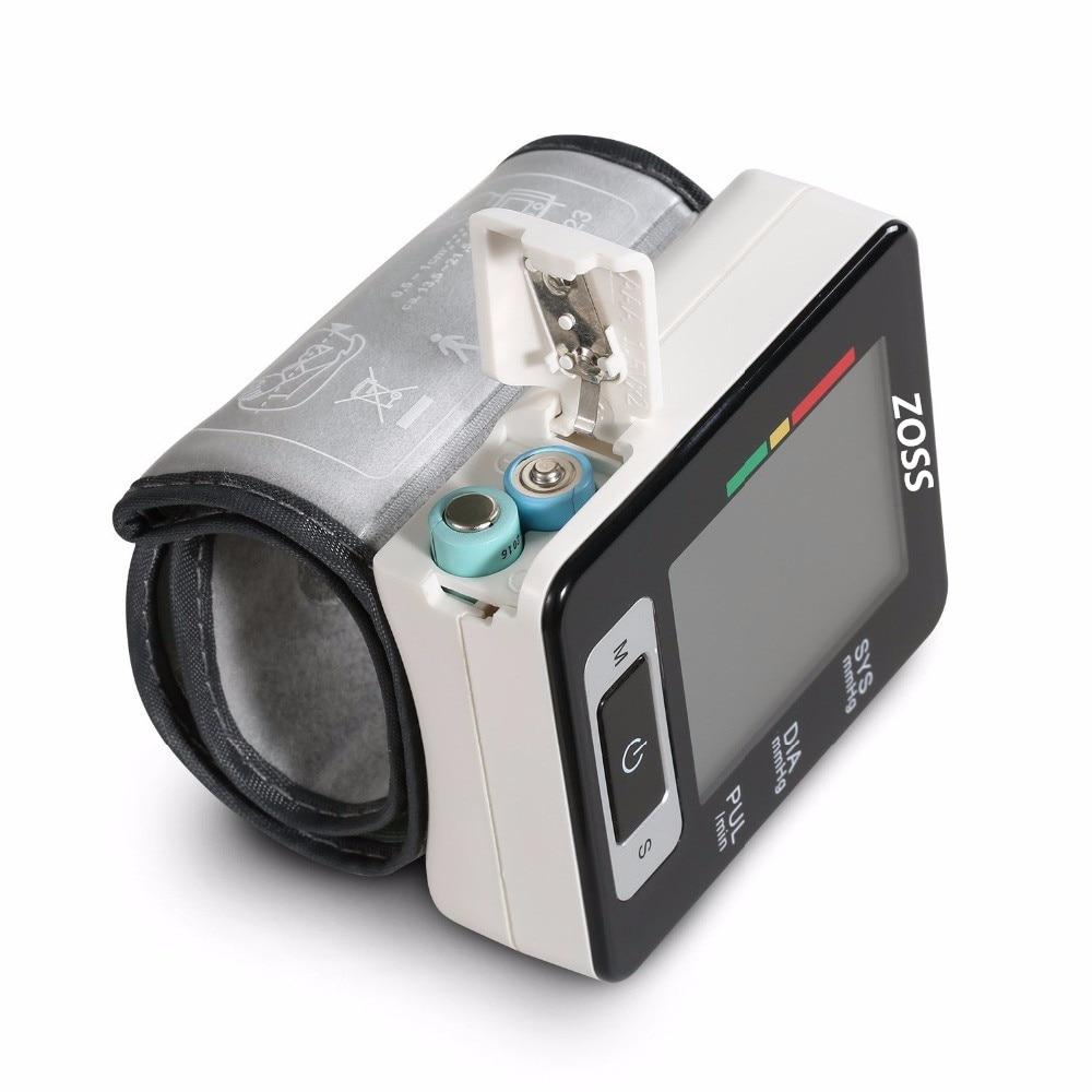 ZOSS English Voice Sphygmomanometer Tonometer