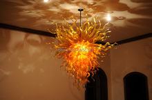 Free Shipping Unusual Glass Design Wholesale Modern Crystal Chandelier Lamp(China)