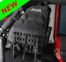 Rear Trunk Storage Box Cargo Tools Boot Tidy Bag Stowing Nylon For Jeep Wrangler 4-Door UPS FEDEX DHL TNT EMS ARAMEX Free Ship