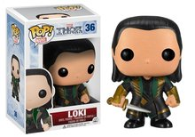 Funko POP Marvel Bobble Thor Movie 2 Loki Action Figure 10cm 3.75'' PVC Figures Collection Movies Character Model Doll