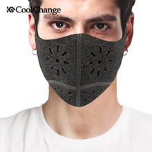 2017 CoolChange Bike Mask For Face Mouth-Muffle Mask Dust Dustproof Bicycle Sports Protect Training Mask MTB Cycling Accessories(China)