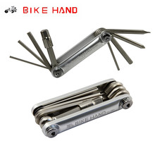 BikeHand 9 In 1 Mountain Bicycle Tools Sets Multi Repair Tool Kit Hex Hexagonal Wrench Bike Screwdriver Portable YC-262
