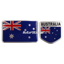 Australia Flag Emblem Badge Sticker For Holden Fiat Alfa Romeo Audi Opel Mazda Citroen Renault Peugeot Ford Chevrolet Volkswagen(China)