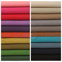 1 meter linen fabric for sewing solid cotton material zakka patchwork fabric tecido soft fine table cloth curtain dress handmade