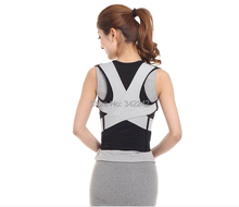 2015 New upgradeQuality is very good Lumbar spine correction belt,waist vest vest therapy,posture spor spine corrector opp bag