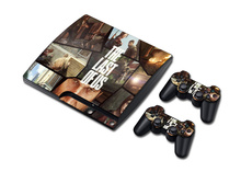 5sets The Last Of US STICKER COVER  for PS3 SLIM + 2 CONTROLLER SKINS for PS3 skin stickers  Designs