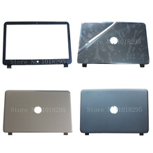 "New Genuine Laptop Top LCD Back Cover/LCD Bezel Screen Cover Front Frame for HP 15-G 15-R 15-T 15-H 15.6"" 760967-001 AP14D000C70"