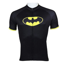 CUSROO marvel short-sleeve cycling jersey custom made short jersey Batman jersey Black Spiderman jersey boy clothing Custom  6xl