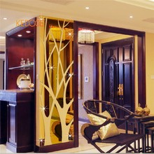 KEDODE Rectangular mirror 3D Home Furnishing waist decorative wall stickers(China)