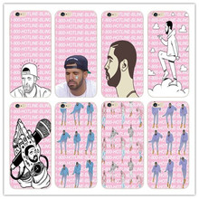 Poor Crying Drake Hotline bling  Case Cover For Apple iPhone 7 4 4S 5 5S 5C 6 6S 6 Plus 6S Plus Phone Back Cover Free shipping