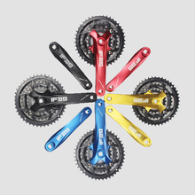 Buy Aluminum Alloy Crank + Steel Tooth Chainwheel Mountain Bike Crankset 9 Speed Crank Set 170MM Chainring Bike Parts 22-32-44T for $33.20 in AliExpress store