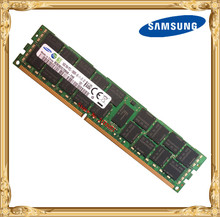Samsung server memory DDR3 16GB 1333MHz ECC REG Register DIMM PC3L-10600R RAM 240pin 10600 16G(China)