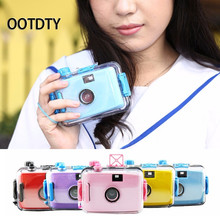 OOTDTY Camera Underwater Waterproof Lomo Camera Mini Cute 35mm Film With Housing Case New(China)