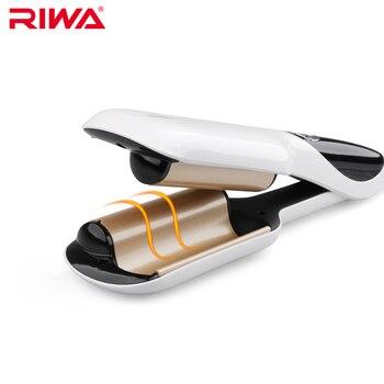 Riwa Электрический бигуди быстрого стиля инструмент анион ЖК-дисплей автоматической завивки волос Styler Железный Z6