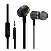 Metal Earphone Headset Earphones 810 Stereo Universal 3.5mm Earbuds handsfree iphone samsung Xiaomi huawei SONY PC MP3 - Mambaman OfficialFlagship Store store
