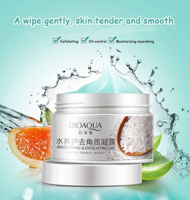 sdfsdf BIOAQUA Brand Skin Care 140g Facial Exfoliating Moisturizing Cream Shrink Pore Brightening Skin Oil-control Hydrating Cream07