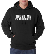 For Adult Funny Clothing Trust Me, I'm An Engineer Letters Hoodie Men 2017 Spring Autumn Men Hoodies Sweatshirts Fleece Hooded(China)