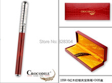 High quality Crocodile office supplies promotional gifts metal roller pen free shipping 155