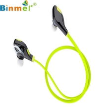 Factory Price Binmer Hot Selling In-ear Wireless Bluetooth Stereo Hands Free Sports Earphone Drop Shipping Good Quality(China)