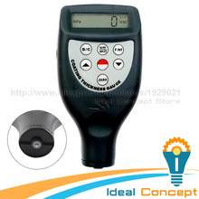 Coating Thickness Meter Built-in F & FN Probe Magnetic Induction Eddy Current  Steel Zinc Nickel