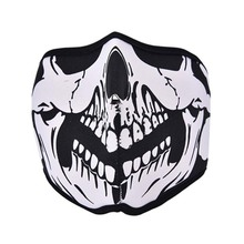 Outdoor Cycling Motorbike Tooth Neoprene Ghost Skull Balaclava Face Mask Headgear Bike Cycling Ski Outdoor Half / Full Masks(China)