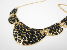ZOSHI 2017 New Women Long Gold Color Chain Leopard Necklaces & Pendants Maxi Brand Collar Statement Chocker Necklace