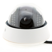 Wired CCTV IP Camera IR Night Vision 22 pcs IR Leds Dome IP Camera Cell Phone View Serveillance Camera(China)