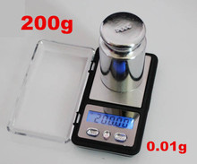 Buy 200pcs dhl fedex 200g x 0.01g Mini Digital Scale Precision Balance Pocket Electronic Gold Bijoux Sterling Silver Jewelry for $798.86 in AliExpress store